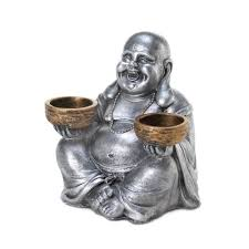 small tea light candles candle holders sitting small buddha candle holder decor for