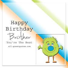 happy birthday brother you u0027re the best facebook greeting cards