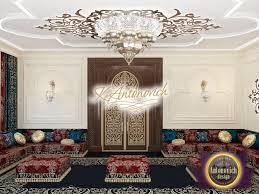 luxury interior design arabic restoran in saudi arabia