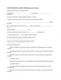Free Lease Agreement Lease Templates Free Happy Birthday Certificate Blank Best Photos