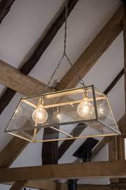 Large Pendant Lights Glass Box Pendant Light Large Lantern Light Desresdesign