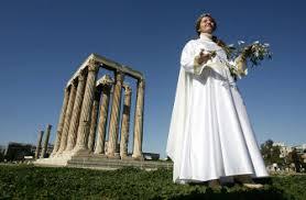 Seeking Zeus Modern Pagans Honor Zeus In Rite Seeking World Peace The