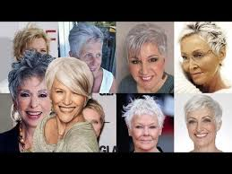 pixie hair cuts older women over 50 u0026 2017 short pixie very
