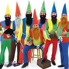 Lawn Gnome Halloween Costume Garden Gnome Costume Ebay