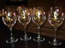 wine glass with initials diy summerkutie s wedding planning bio