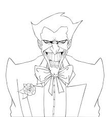 joker coloring pages coloringsuite com