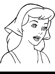 coloring pages disney princesses cinderella preschoolers