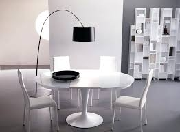 dining room round table enchanting white round table with chairs dining room expandable