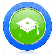 graduation sign education icon graduation sign stock photo picture and royalty