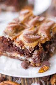 gooey german chocolate bars plain chicken