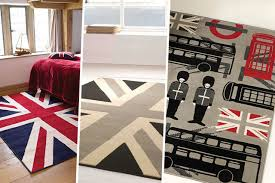 london themed rug 3 designs