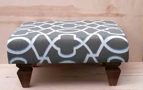 Short Tables Living Room by Gray And White Accent Upholstered Ottoman Coffee Table Using Brown