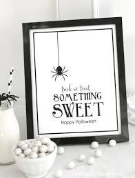halloween something sweet print bloom designs