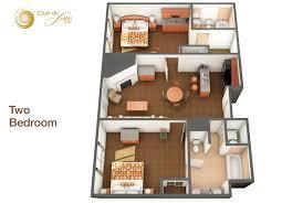 2 bedroom suites at club de soeil