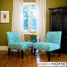 Teal Accent Chair by Naomi Accent Chair Blue Accent Chairs Living Room Room Living