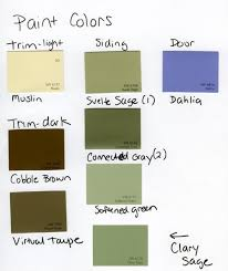sage green color palette exterior paint color please help