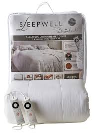 2 Tog King Size Duvet New Sleepwell Intelliheat Luxury Cotton Duvet U2013 Dreamland