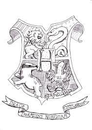 hogwarts crest coloring hogwarts crest coloring harry