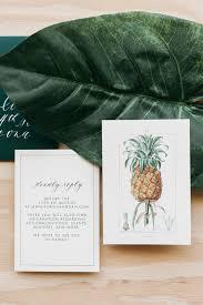 wedding invitations hawaii tropical hawaiian calligraphy wedding invitations