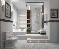 ramsey interiors award winning interior designer in kansas city contemporary bathroom in white ramseyinteriors