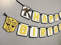 printable transformers birthday banner bumblebee transformer cake cake cake templates and birthdays