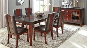 chocolate dining room table chocolate dining room photo 9 of 9 chocolate 5 rectangle dining room
