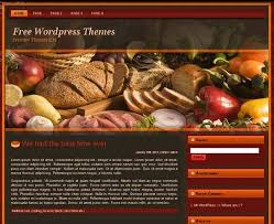 40 free themes for food and recipe instantshift