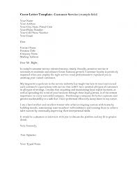 Sales Representative Cover Letter Examples by Cover Letter Template Customer Service Cover Letter Templates