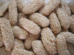 la buona cucina biscotti della regina italian sesame seed cookies