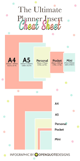 homemade planner templates 5061 best planner addict images on pinterest planner ideas the ultimate planner guide paper and planner sizes infographic chart
