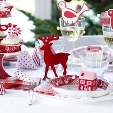 Christmas Reindeer Table Decor by Christmas Decorations Yumbles Com