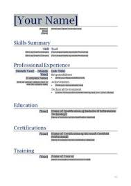 free printable resumes templates printable resume templates free printable resume template