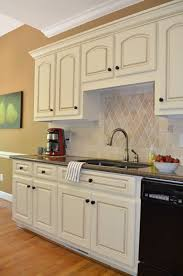 white glazed kitchen cabinets how to glaze cabinets at home with the barkers