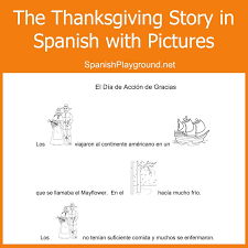 Thanksgiving Story For Preschool Thanksgiving Printable Read Pictures To Speak