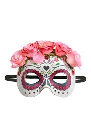 pink masquerade masks masquerade mask white pink h m ca