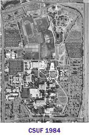 Cal State Fullerton Map Capital Project Management Csuf Chronological Aerial Photos Album 2