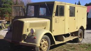 opel truck ww2 for sale 1944 opel blitz youtube