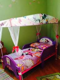 minnie mouse bow tique toddler bed with canopy walmart com