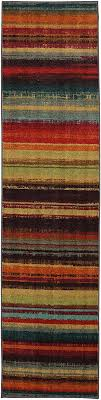 Mohawk Runner Rug Mohawk Home New Wave Boho Stripeprinted Rug 2 X8