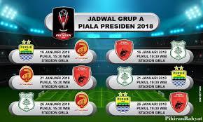 Jadwal Piala Presiden 2018 Jadwal Lengkap Persib Bandung Di Piala Presiden 2018 Persib Day