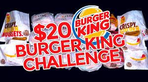 Career At Burger King Burger King 20 Value Menu Challenge Youtube