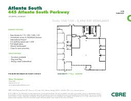 atlanta airport floor plan 445 atlanta s pky atlanta ga 30349 property for lease on