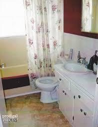 remodeling small bathroom ideas on a budget budget friendly farmhouse bathroom remodel reveal hometalk