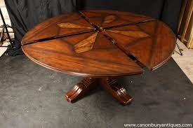 expandable round dining room tables incredible expanding round dining room table ideas expanding round
