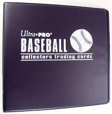 sports photo albums ultra pro 3 black baseball card collectors album da card world