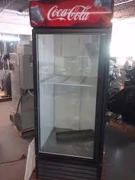 coca cola fridge glass door coca cola glass door cooler true model gdm 26 115 v 30 wide 4