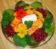Salad With Edible Flowers - how to grow u0026 use nasturtiums the micro gardener