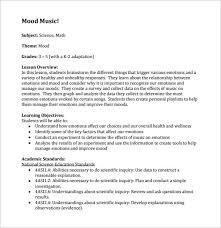 music lesson plan template u2013 7 free word excel pdf format