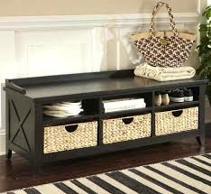 foyer storage bench bench for entryway with storage mudroom