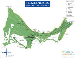 Driving Maps Maps Of Providenciales Visit Turks And Caicos Islands